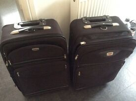 Antler suitcases dark charcoal colour