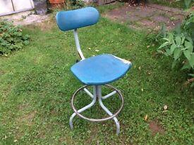 Vintage industrial workshop chair