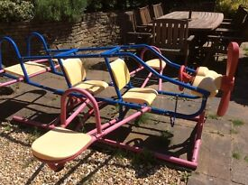 Lovely airplane seesaw great for kids. Most collect