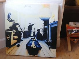 Oasis definitely maybe album cover painting