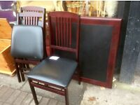 Reduced Folding table &3 chairs