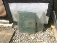 Green house glass sheet std sizes and angle prices Gatwick