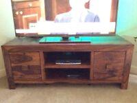 TV Unit, KERALA Range from the Living Room, Indian Rosewood/Sheesham