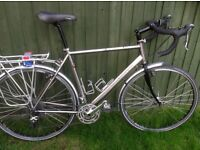 Dawes Ultra Galaxy Ti Titanium Touring Bike excellent condition. Fantastic spec. Ready for touring.