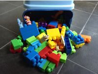 In The Night Garden Mega Blocs Bundle in container