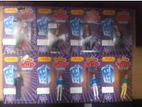 Lot of 16 Dr Who Dapol figures in box
