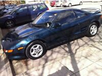 1991/J Toyota MR2 G-Limited Auto with T-Bar Roof. Excellent bodywork and Interior (Project)