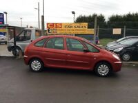 Citroen xsara Picasso 1600 diesel one owner 80000 fsh long mot fully serviced great driving car