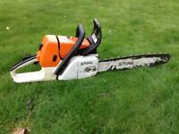 Stihl 034 Petrol Chainsaw Very Powerful Machine 034 Chain Saw