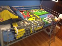 Mid sleeper bed and mattress