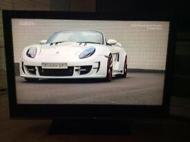 "Sony Bravia 40"" LCD HD TV free view"