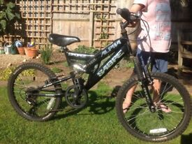 "Boys bike for sale. 20"" rear wheel diameter. £15 only. bargain.!"