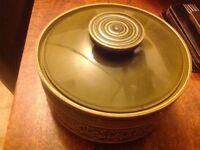 Retro Beswick Zorba design Casserole Dish with lid.