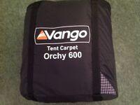 Vango tent carpet 3m x 2m rectangular ( fits Vango Orchy 600)