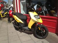 Piaggio Typhoon 50cc 2stroke derestricted stage six exhaust 12 months mot delivery arranged anywhere
