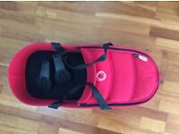 Bugaboo bee 3 carrycot in Red and adptors (mattress included too) in excellent condition
