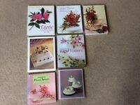 Cake Decorating Books - Floral Sugarcraft - 7 books