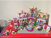 Lego Friends - Heartlake Shopping Mall + 3 other small sets