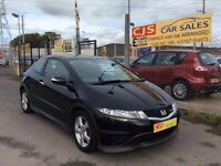 Honda Civic type S 2010 one owner 52000 fsh ful year mot mint car fully serviced possible px