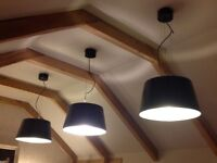 4 large IKEA Ceiling Lights