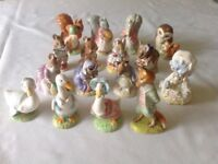 Beatrix Potter Royal Albert figurines (28)