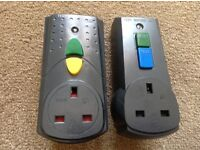 2 RCD safety adaptors