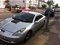 TOYOTA CELICA FOR SALE / m.o.t runs out last month/ bought a new car