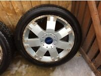 FORD MONDEO ALLOY WHEELS