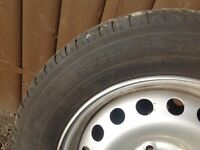 195/65/R15 wheel and tyre