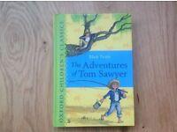 The Adventures of Tom Sawyer by Mark Twain Oxford Hardback RRP £6.99