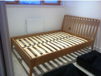 bedstead with matching bedside cabinet