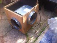 Torino Sifan Acoustic Box Fan Model no. 177307 DDC 241-241 pre-owned good w.or