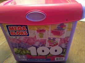 Mega Blocks 100 Tub