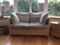 John Lewis conservatory Couch and Chairs