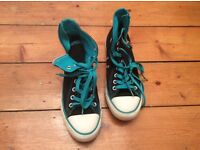 Converse high tops size 7 black
