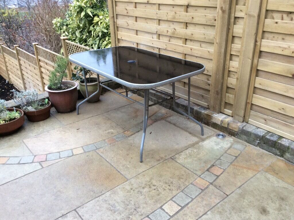 Sturdy garden table free