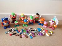 Huge Mr Potato Heads Bundle 110 pieces