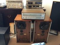 Yamaha amplifier and b&w speakers . No offers