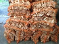 QUALITY NETTED HARDWOOD LOGS & HARDWOOD KINDLING -COLLECTION ONLY