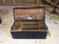 Old carpenters tool box