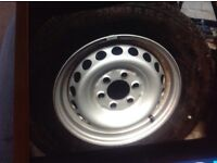 Wanted spare wheel and tyres for mercedes sprinter