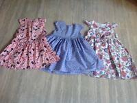 Girls Cotton Dress Bundle 3-4 Years