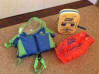 Toddler swim aids
