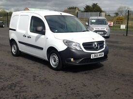 DEC 2015 MERCEDES CITAN 1.5 CDI. 24000 MILES. ALL OPTIONS FITTED. BULKHEAD. PLY LINED. 2 SIDE DOORS.