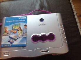 Vtech smile pro console and games