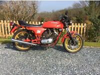 Moto Morini sport classic motorcycle