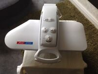 Fast press home ironing system for a professional finish