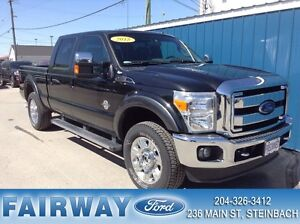 2015 Ford F-250 4x4 - Crew Cab Lariat Local Trade*Leather