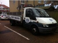 Ford Transit 2002 Long Wheel Base 125 BHP Drop side Truck, Perfect Recovery