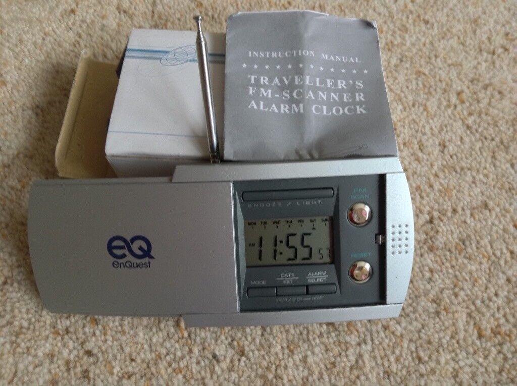 Travel Radio/Alarm Clock